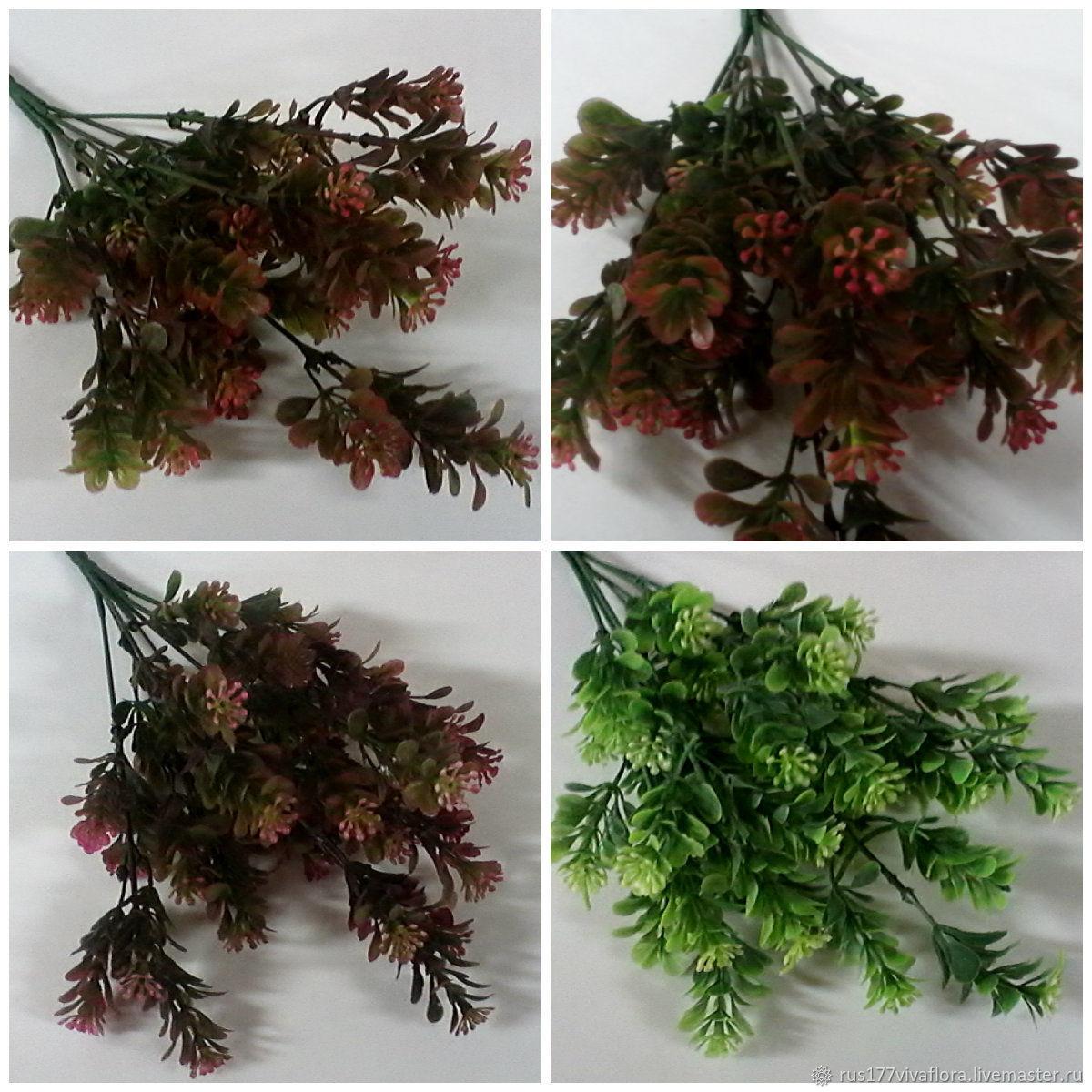 Фз-37 флористическая зелень, самшит, Цветы искусственные, Москва,  Фото №1