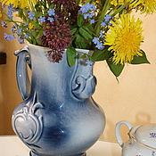 Винтаж handmade. Livemaster - original item Jug ceramic. Great and wonderful. Handmade.
