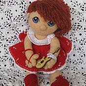 Куклы и игрушки ручной работы. Ярмарка Мастеров - ручная работа Вязаная кукла Маша. Handmade.