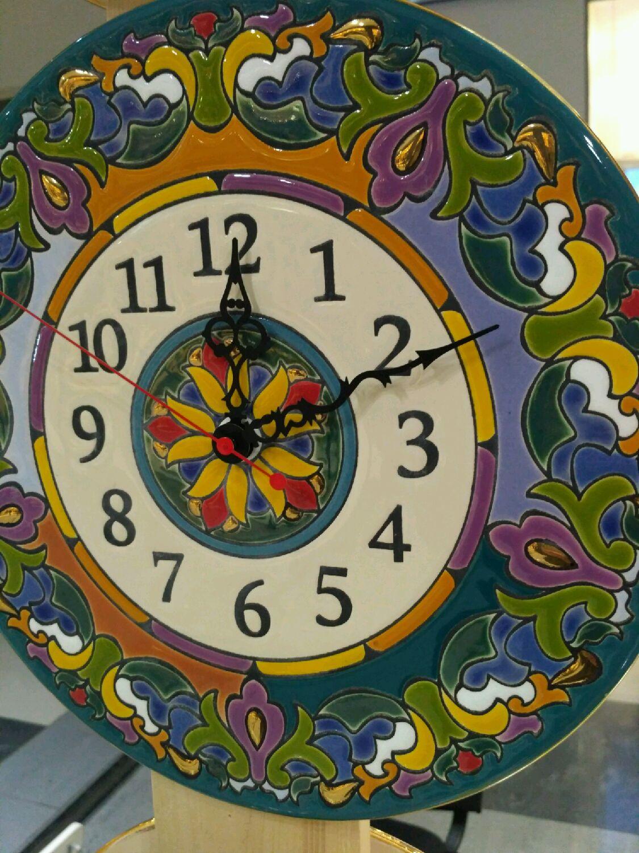 Clocks Decorativeceramicround Shop Online On Livemaster With