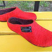 Обувь ручной работы. Ярмарка Мастеров - ручная работа Сабо  (клоги) валяные.. Handmade.