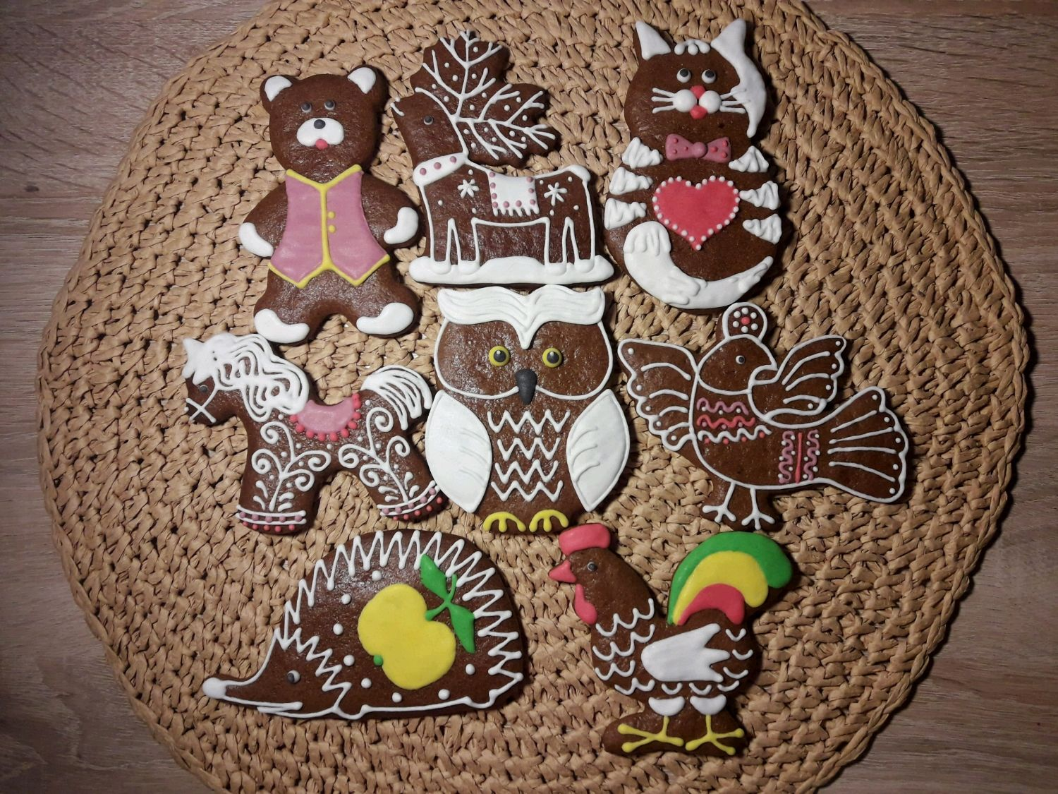 Northern pryaniki.Nabor 'Animals', Gingerbread Cookies Set, Velsk,  Фото №1
