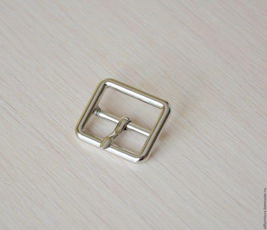 Шитье ручной работы. Ярмарка Мастеров - ручная работа. Купить Пряжка XB-0042  25.4мм никель полир. Handmade.