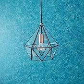 Для дома и интерьера handmade. Livemaster - original item Lamp loft Andromeda copper, small. Handmade.