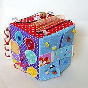 Куклы и игрушки ручной работы. Ярмарка Мастеров - ручная работа Развивающий куб. Handmade.