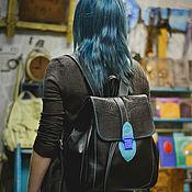 Сумки и аксессуары handmade. Livemaster - original item Backpack for travel. Handmade.