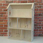 Кукольные домики ручной работы. Ярмарка Мастеров - ручная работа Кукольный домик ручной работы с каминами. Handmade.