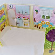 Куклы и игрушки handmade. Livemaster - original item Dollhouse made of fabric and felt.. Handmade.