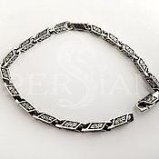 Украшения handmade. Livemaster - original item Silver bracelet cast link, Vine. Handmade.