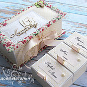 Подарки к праздникам ручной работы. Ярмарка Мастеров - ручная работа Мамины сокровища коробочка для девочки. Handmade.