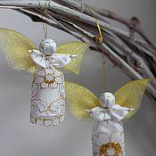 Куклы и игрушки handmade. Livemaster - original item Christmas angel. Handmade.