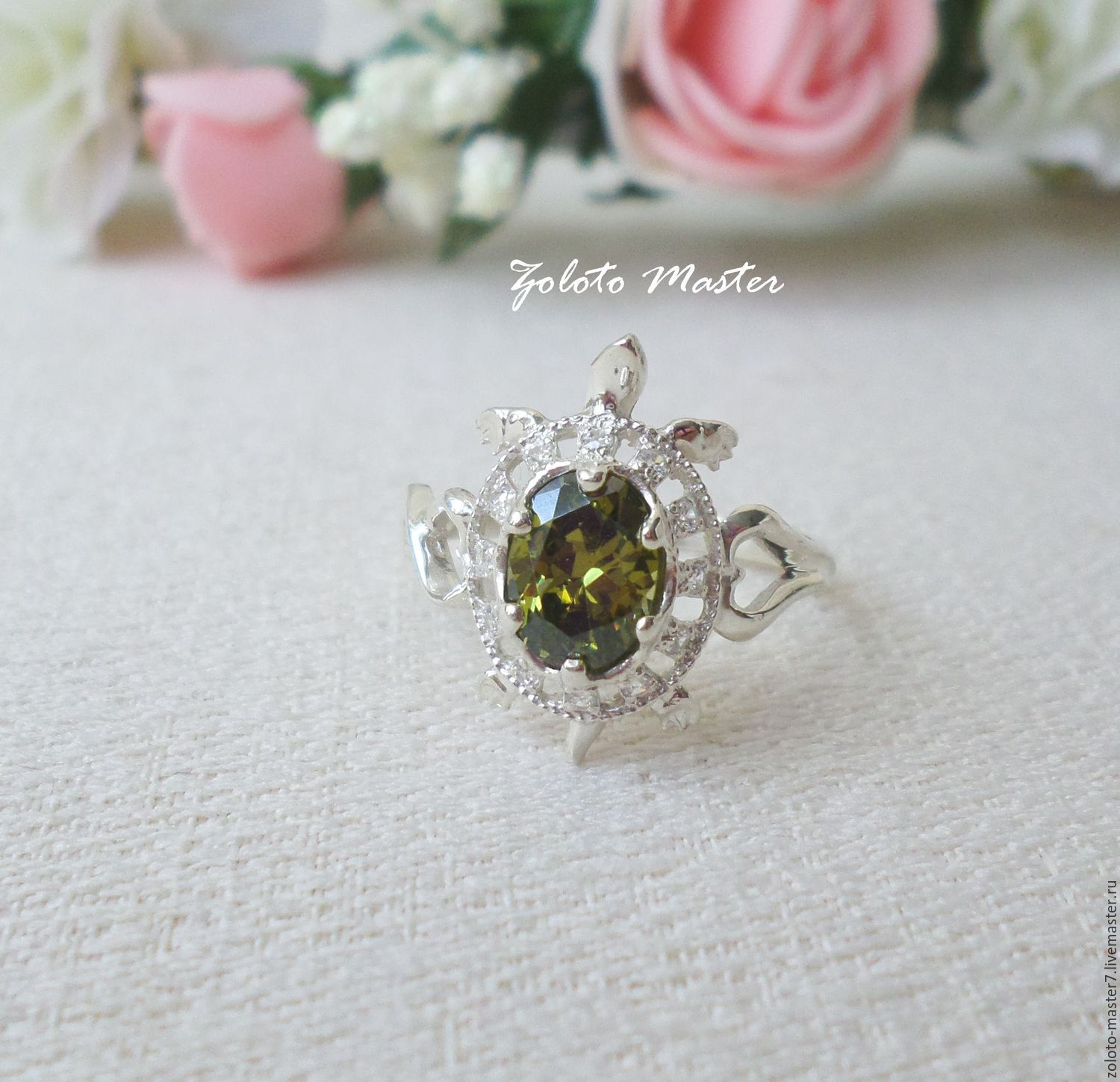 Silver Turtle ring, Rings, Chaikovsky,  Фото №1