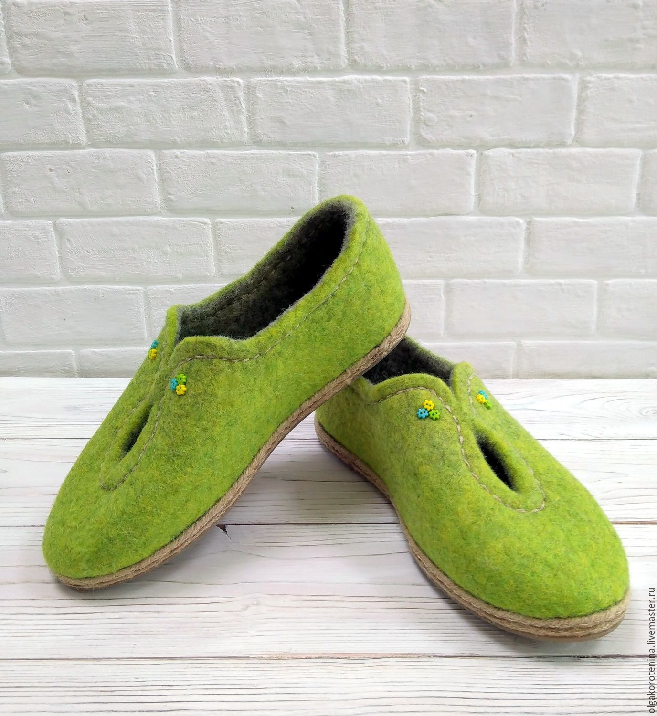 fd45cf9ffc59d Обувь ручной работы. Ярмарка Мастеров - ручная работа. Купить Валяные туфли