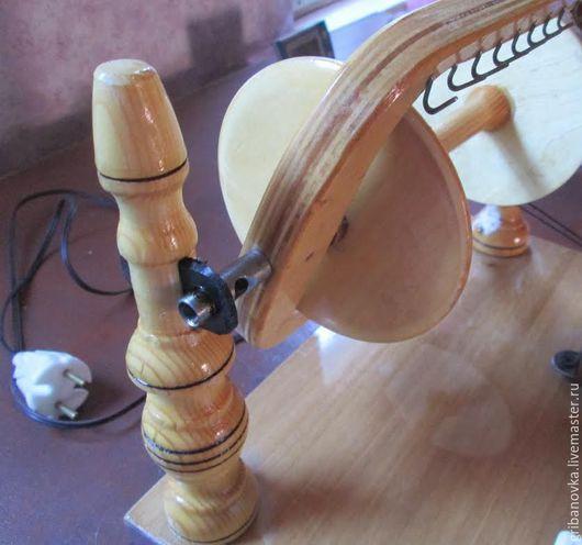 Валяние ручной работы. Ярмарка Мастеров - ручная работа. Купить Прялка электрическая. Handmade. Золотой, прялка ручная, прядение