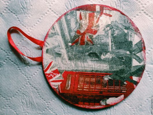 Подарочные наборы ручной работы. Ярмарка Мастеров - ручная работа. Купить Диски. Handmade. Декупаж, подвеска, мотив, the beattles