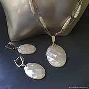 Украшения handmade. Livemaster - original item Pendant and earrings