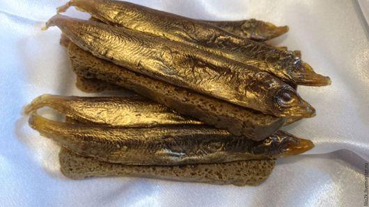 Мыло бутерброд с рыбкой