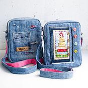 Сумки и аксессуары ручной работы. Ярмарка Мастеров - ручная работа Джинсовая сумочка, детская сумка. Handmade.