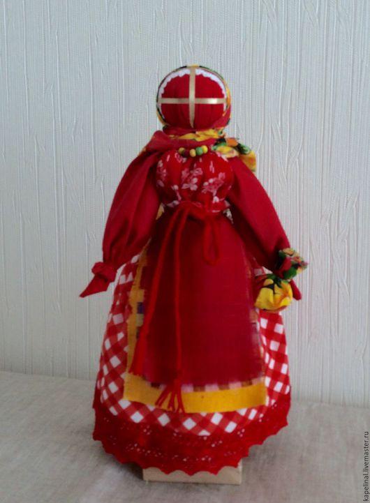 Народные куклы ручной работы. Ярмарка Мастеров - ручная работа. Купить Народная кукла Пасха. Handmade. Ярко-красный, православие
