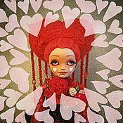 """Куклы и пупсы ручной работы. Ярмарка Мастеров - ручная работа ООАК куклы Эйлин """"Амура"""". Handmade."""