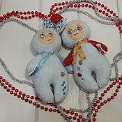 Куклы и игрушки ручной работы. Ярмарка Мастеров - ручная работа Милые зайчики малышки. Handmade.