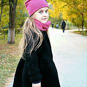 Одежда ручной работы. Ярмарка Мастеров - ручная работа Вязаное пальто Апрель. Handmade.