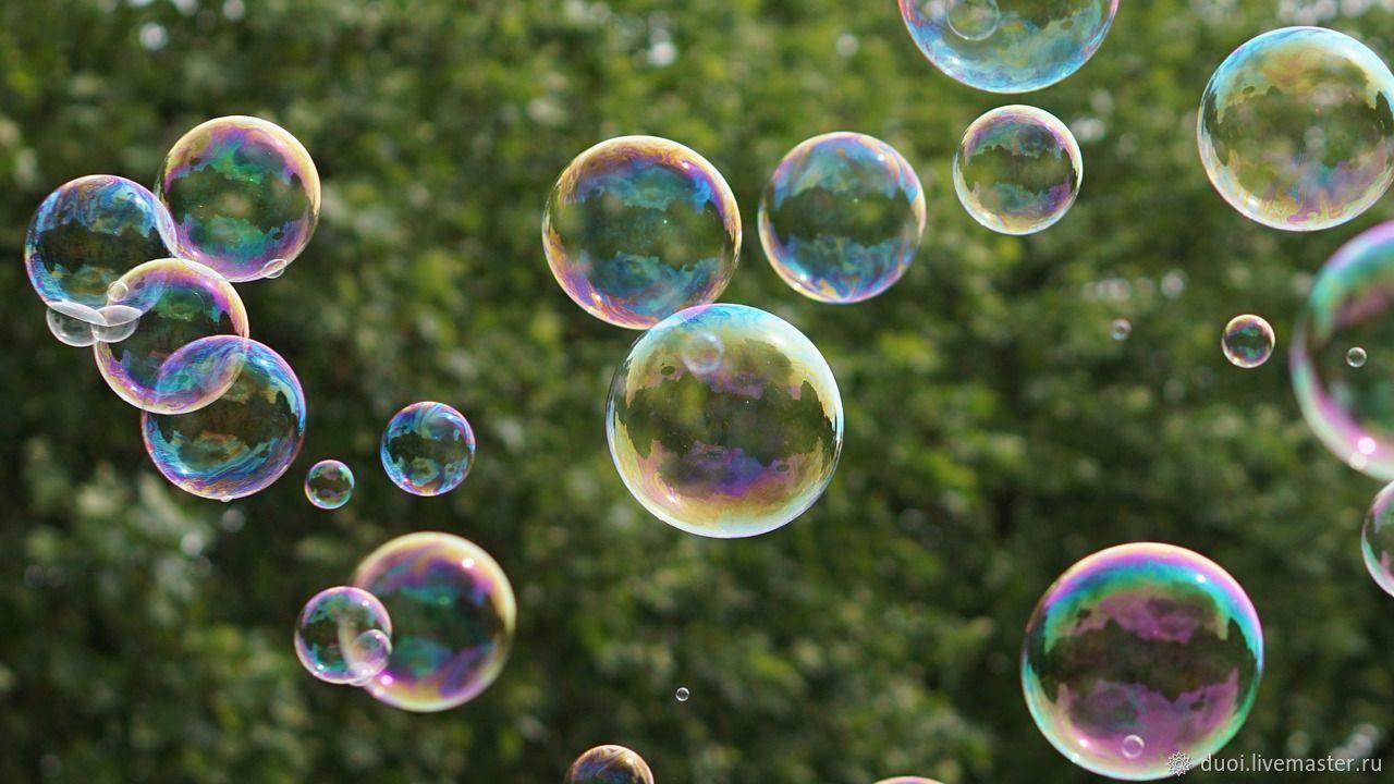 Как вставить фото в мыльные пузыри