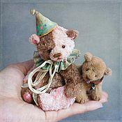 """Куклы и игрушки ручной работы. Ярмарка Мастеров - ручная работа """"Дядя"""" Вова и медведь :). Handmade."""