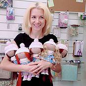 Куклы и игрушки ручной работы. Ярмарка Мастеров - ручная работа Мастер-класс Куколка. Москва. Handmade.