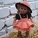 """Одежда для кукол ручной работы. Ярмарка Мастеров - ручная работа. Купить """"Осенний гномик"""". Одежда для куклы. Handmade. шляпка"""