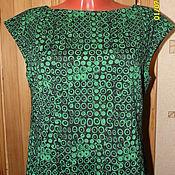 Платье из итальянского жаккарда