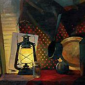 Картины ручной работы. Ярмарка Мастеров - ручная работа «Ночной натюрморт». Handmade.