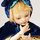 """Коллекционные куклы ручной работы. Ярмарка Мастеров - ручная работа. Купить """"Тася"""" Фарфоровая шарнирная кукла .. Handmade. Желтый, подарок"""