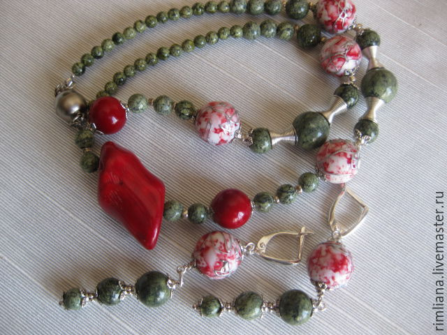 Boho necklace 'African passions', Necklace, Moscow,  Фото №1