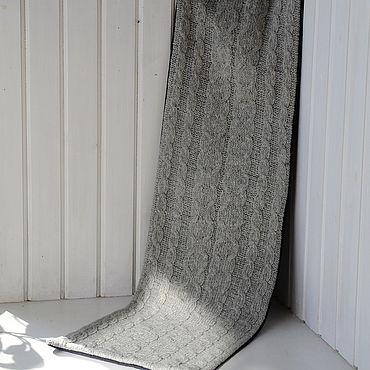 Аксессуары ручной работы. Ярмарка Мастеров - ручная работа Шарф-кашне серый. Handmade.