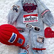 """Куклы и игрушки ручной работы. Ярмарка Мастеров - ручная работа """"F1"""" комбинезон автогонщика для куклы. Handmade."""