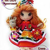 Куклы и пупсы ручной работы. Ярмарка Мастеров - ручная работа Вязанная кукла  Космея. Handmade.