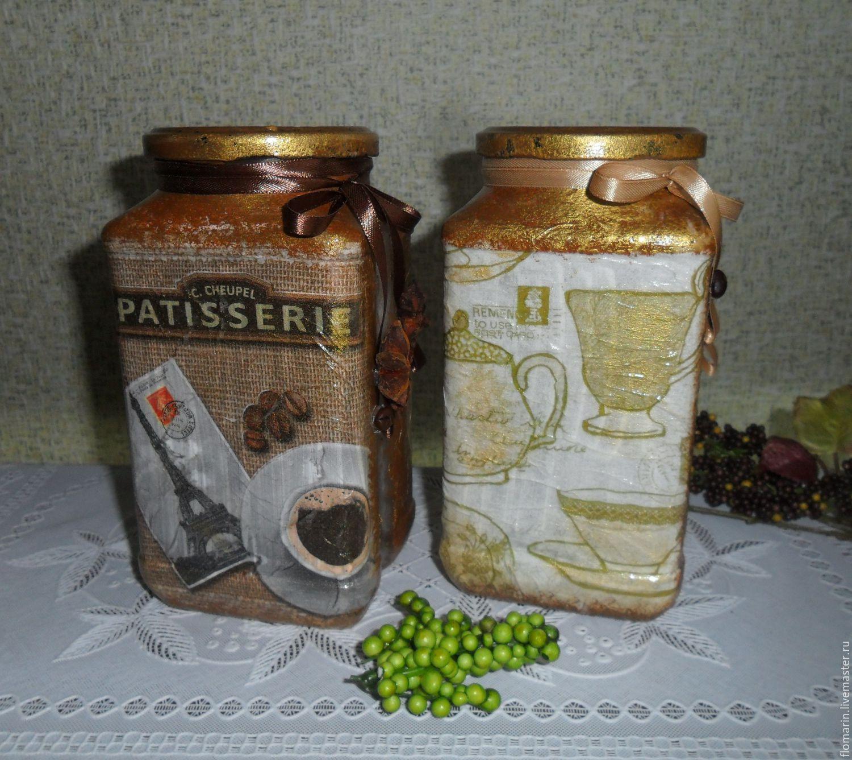 Поделки из баночек из-под кофе 25