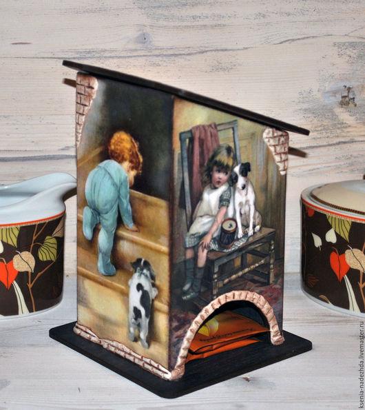 """Кухня ручной работы. Ярмарка Мастеров - ручная работа. Купить Чайный домик """"Малыши"""". Handmade. Чайный домик, джек рассел"""