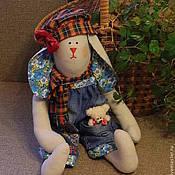 Куклы и игрушки ручной работы. Ярмарка Мастеров - ручная работа Заяц Яша. Handmade.
