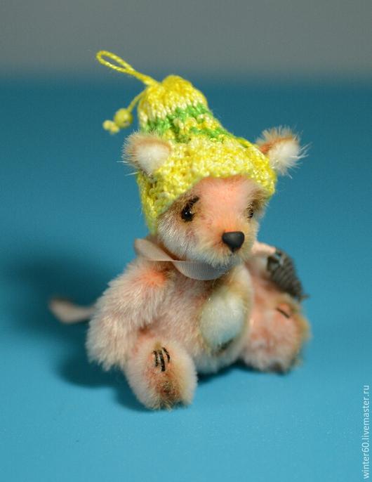 Мишки Тедди ручной работы. Ярмарка Мастеров - ручная работа. Купить Лисенок Кроша. Handmade. Оранжевый, мех для миниатюры