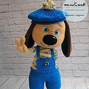 Подарки к праздникам ручной работы. Ярмарка Мастеров - ручная работа щенок Антонио. Handmade.