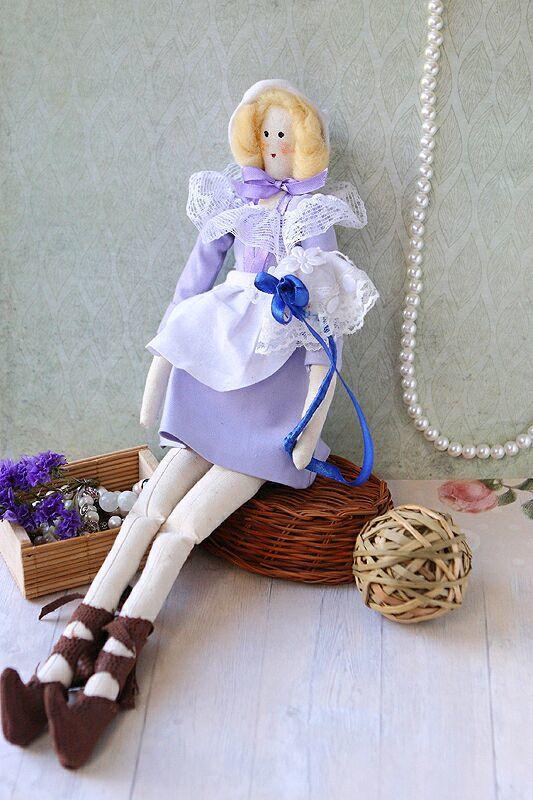 """Мыло ручной работы. Ярмарка Мастеров - ручная работа. Купить Интерьерная кукла """"Девушка с зонтом"""". Handmade. Тильда, интерьерная кукла"""