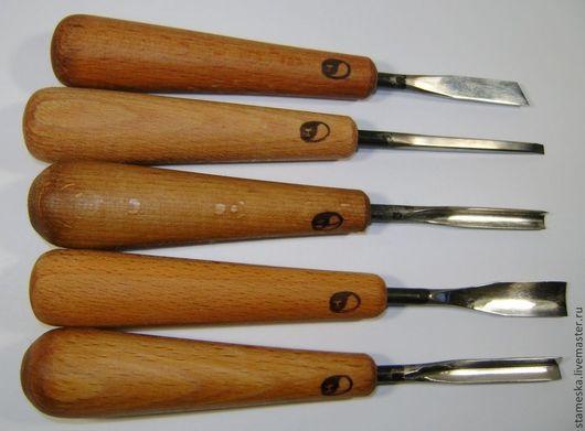 Другие виды рукоделия ручной работы. Ярмарка Мастеров - ручная работа. Купить Набор кованых стамесок  №6. Handmade.