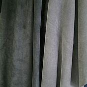 Материалы для творчества ручной работы. Ярмарка Мастеров - ручная работа Замша натуральная (серый). Handmade.