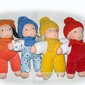 Вальдорфские куклы и звери ручной работы. Ярмарка Мастеров - ручная работа Вальдорфские куклы Кнопочки. Handmade.
