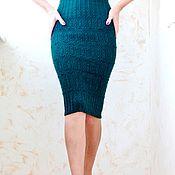Одежда ручной работы. Ярмарка Мастеров - ручная работа Мастер-класс по вязанию юбки. Handmade.