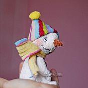 Куклы и игрушки ручной работы. Ярмарка Мастеров - ручная работа Снеговик Джо. серия Веселые снеговички. Handmade.