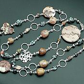 Работы для детей, handmade. Livemaster - original item Beads with pendant