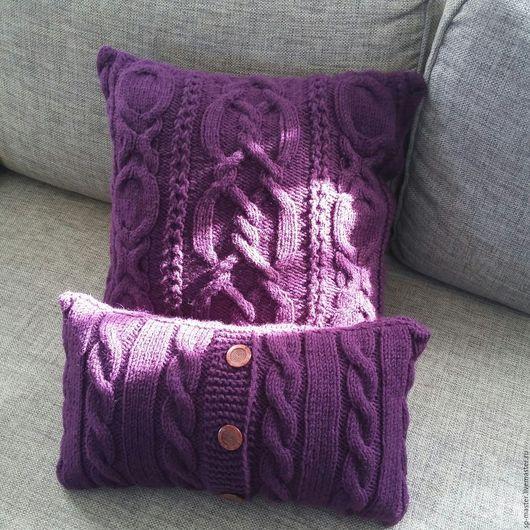 Текстиль, ковры ручной работы. Ярмарка Мастеров - ручная работа. Купить Декоративные подушки. Handmade. Подушка декоративная, интерьер